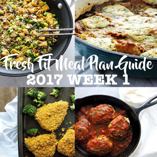 Fresh Fit Meal Plan Guide 2017 Week 1