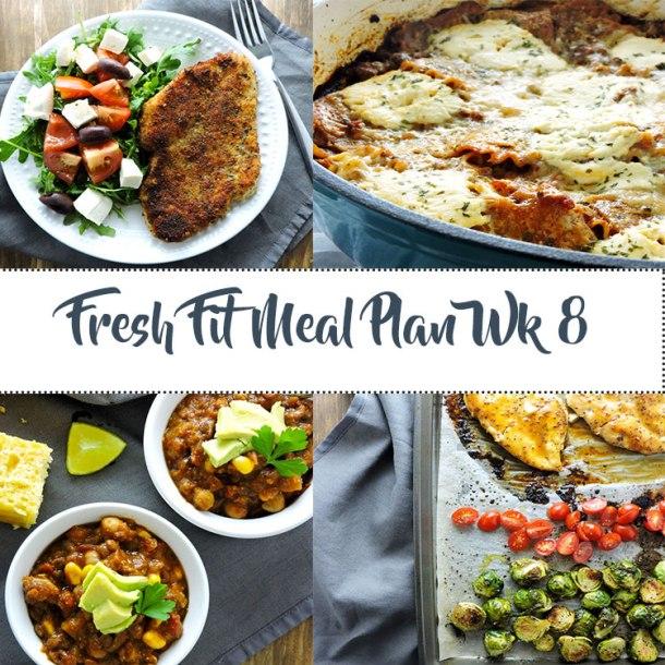 Fresh Fit Meal Plan Guide Week 8