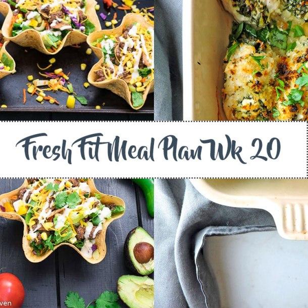 Fresh Fit Meal Plan Guide Week 20