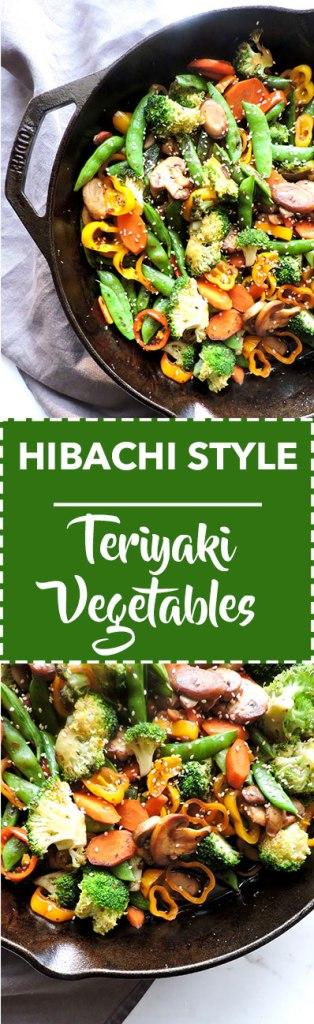 Hibachi Style Teriyaki Vegetables