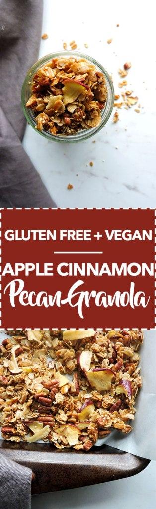 Apple Cinnamon Pecan Granola