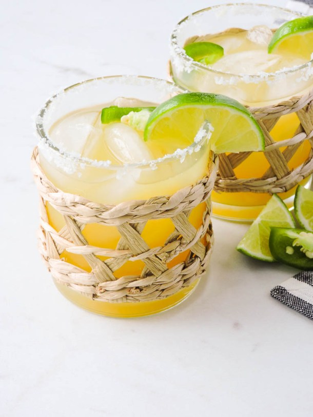 Light and Spicy Margarita