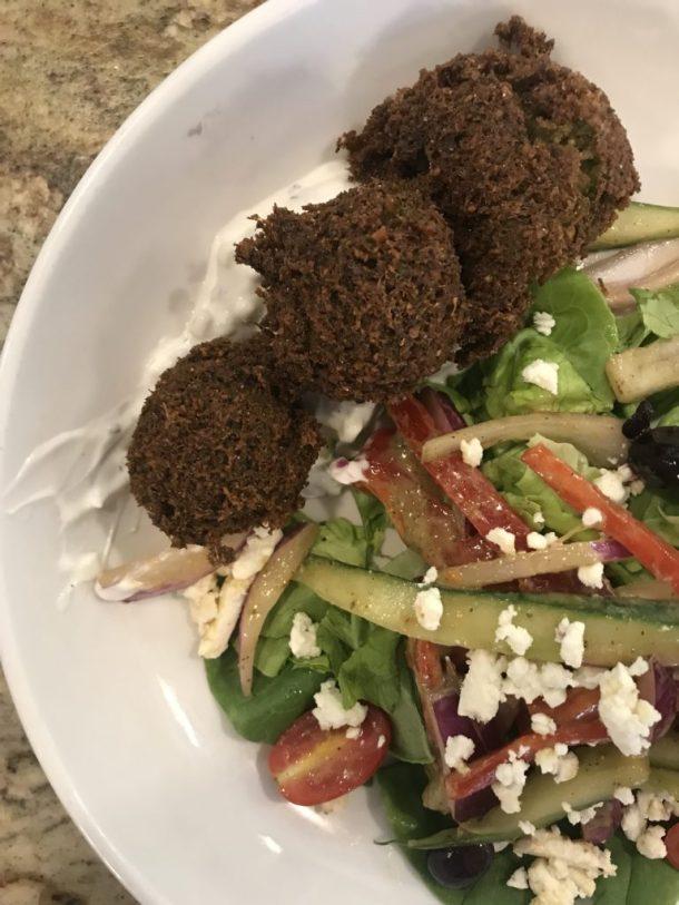 Falafel Salad Asheville