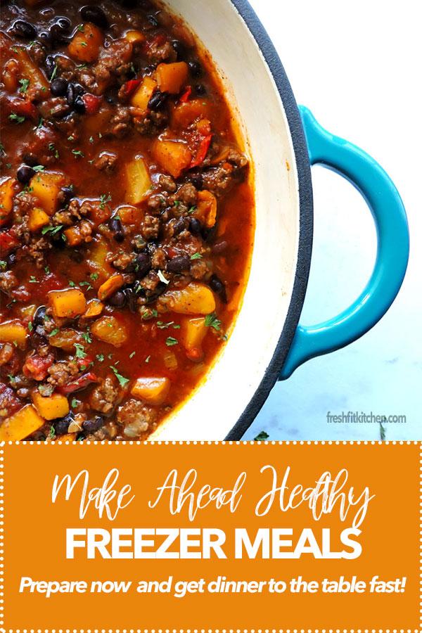 Make Ahead Healthy Freezer Meals