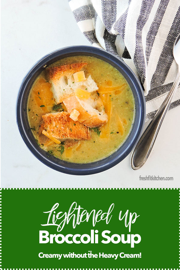 Lightened up Broccoli Soup