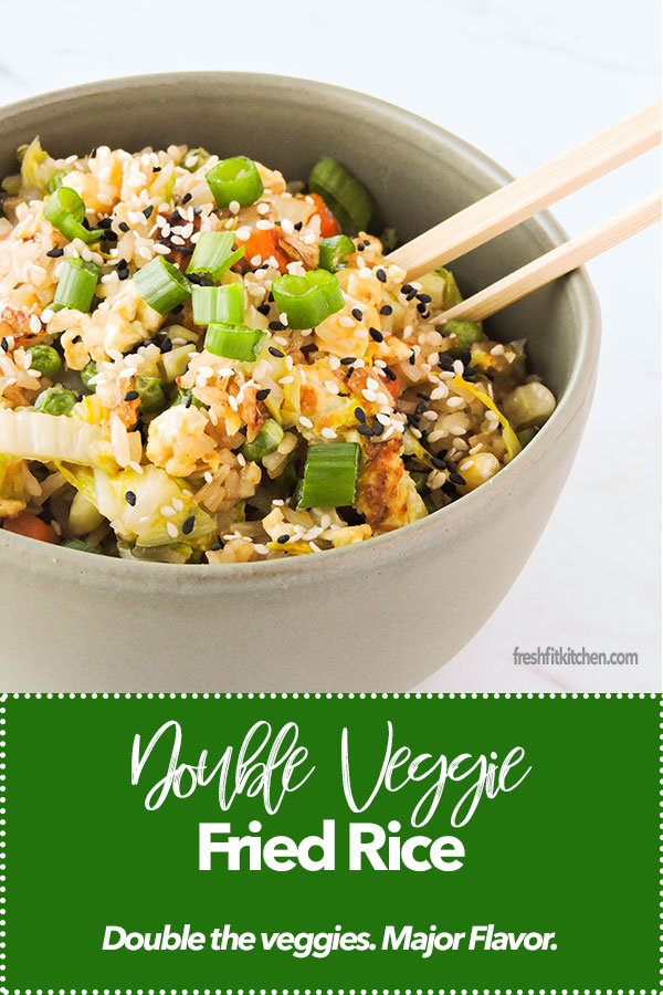 Double Veggie Fried Rice