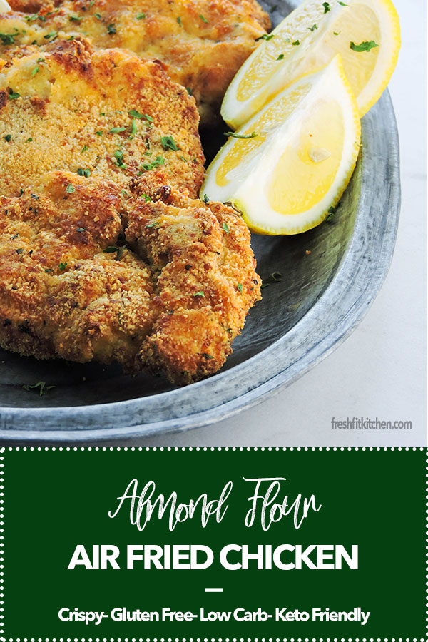 Almond Flour Air Fried Chicken