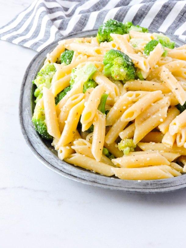 Lemon Broccoli Pasta Salad