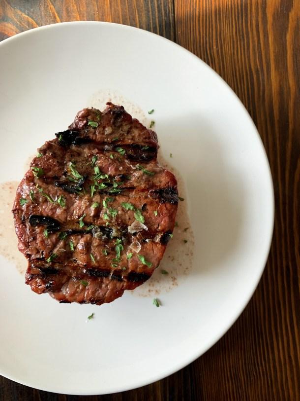 Traeger Grilled Steak