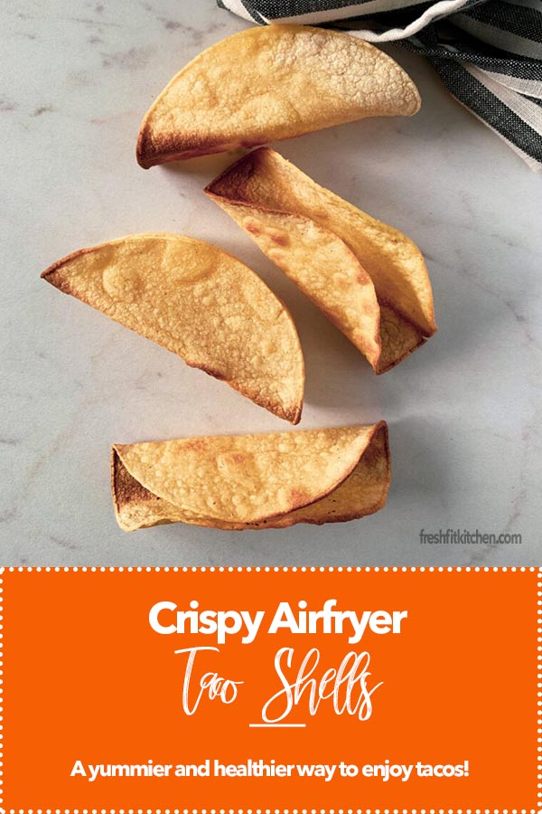 Crispy Air Fryer Taco Shells