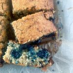 Blueberry Protein Oat Bars