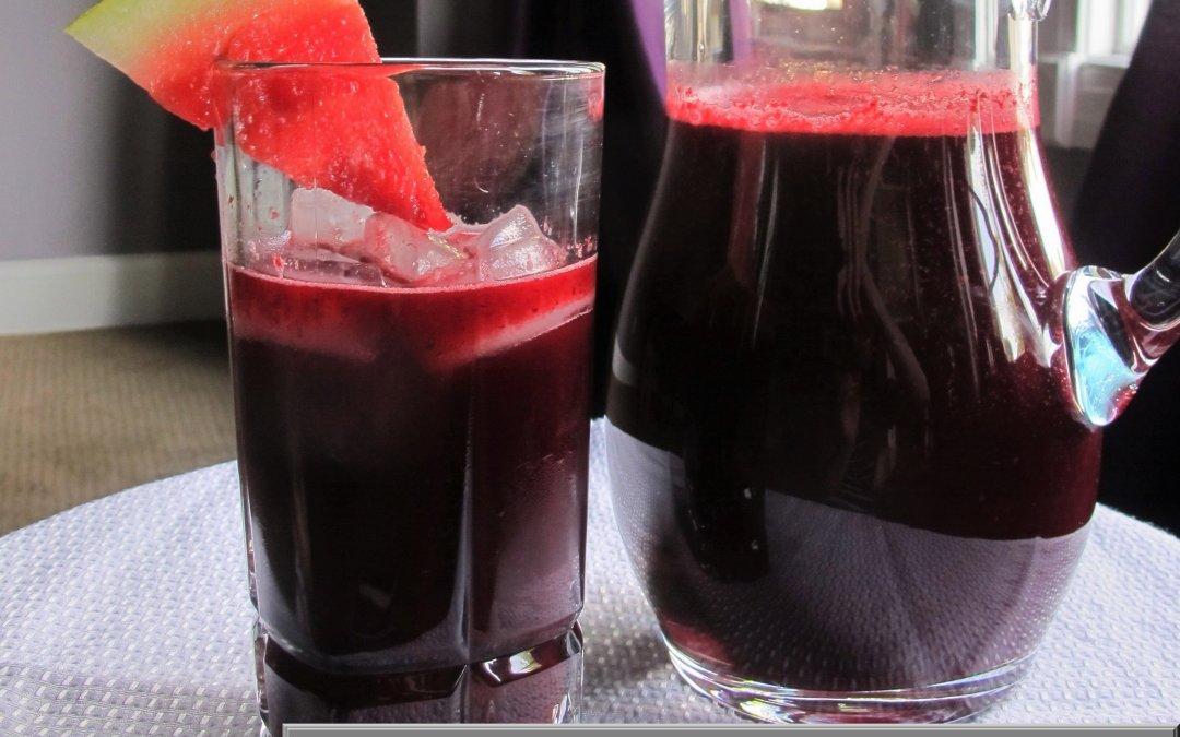 Raspberry-Watermelon Lemonade