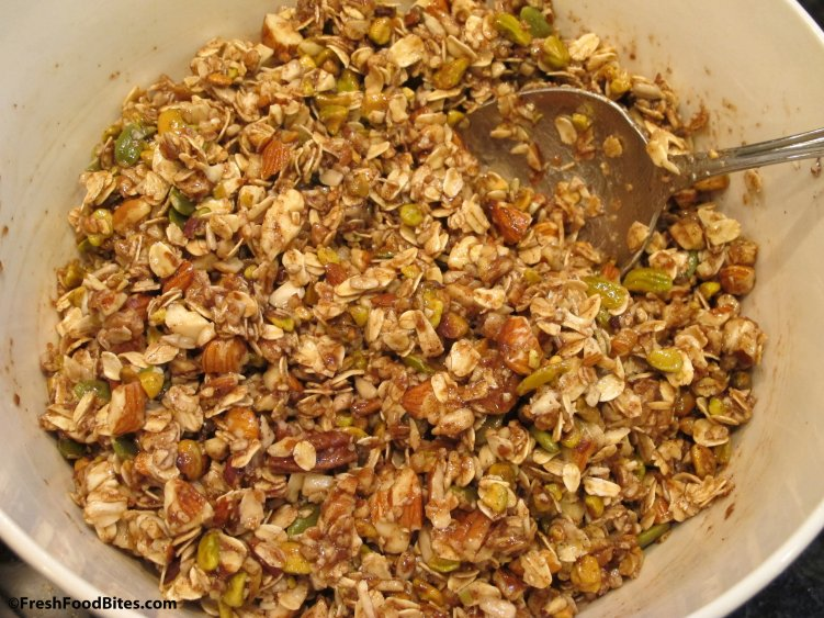 Crunchy, spiced, subtly sweet Nutty Cinnamon Granola will satisfy your craving for granola. It's an indulgence you can feel good about.