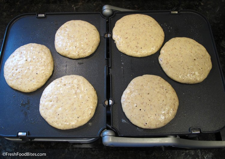 Almond pancakes kid friendly healthy breakfast fresh food bites easily turn your leftover strained almonds from making homemade almond milk into light and fluffy almond ccuart Gallery