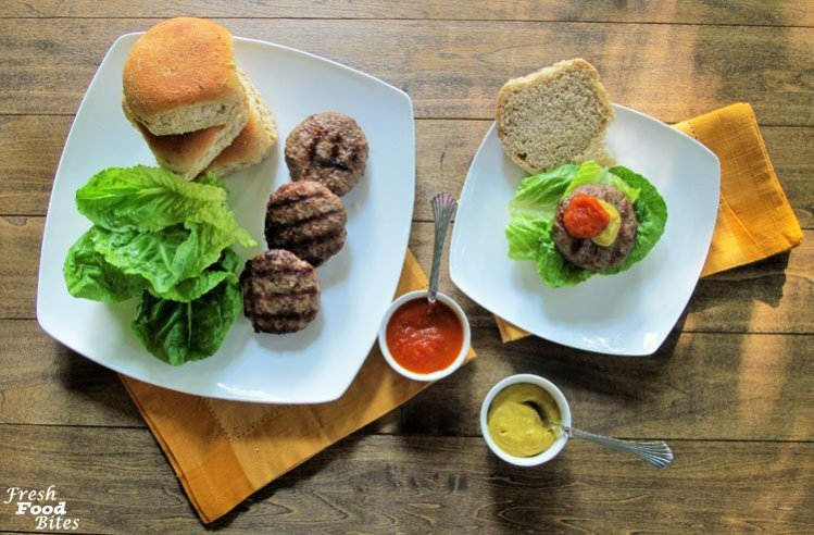 Love brats, but want a healthier version you can pronounce all the ingredients for? Try these Homemade Brat Burgers. While they aren't the traditional link shape, they taste like the real deal and you can top them just like you would your favorite brat. Make a big batch of the spice mixture to keep on hand for nights you need to get dinner on the table quickly. Then, simply toss the spice mixture with ground pork, shape into patties and toss them on the grill.