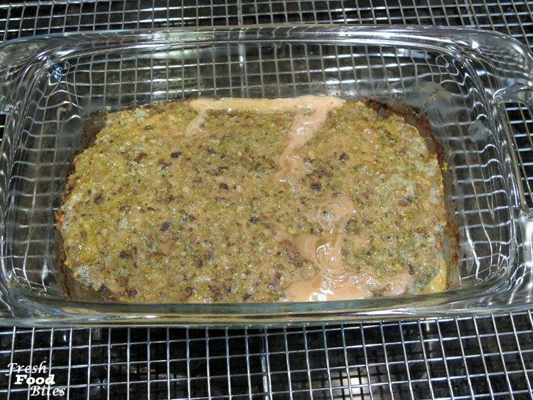 Italian Pesto Turkey-Mushroom Meatloaf ~ Fresh Food Bites