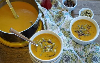 5 Ingredient Butternut Squash Soup