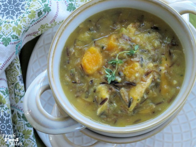 For a velvety rich, veggie-packed healthy soup, try this Creamy Chicken and Wild Rice Soup. It will warm your heart and soul no matter what the weather is like outside. It's got all the goods