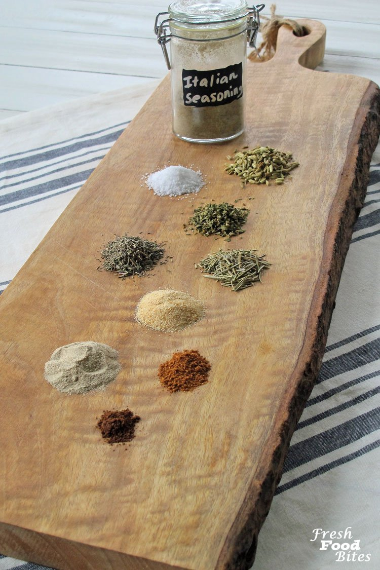 Making your own seasoning mixes could not be easier, and with this Homemade Italian Sausage
