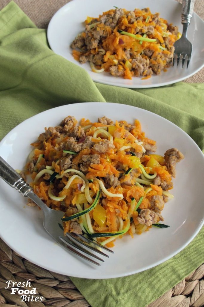 Whether you need a quick weekday breakfast or are looking for a new weekend brunch recipe, this Sweet Potato Turkey Sausage Breakfast Skillet can wear both hats. Not only is it full of nutritious foods that will keep you satisfied and fueled all morning long, it tastes great and is quick and easy to make.