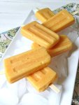 Refreshing, easy, healthy. These Dairy Free Peach-Mango Smoothie Popsicles will hit the spot on the hottest of summer days! With only 3 simple ingredients, this recipe takes very little time to make so you can skip the packaged popsicles. Even if you don't have popsicle molds, you can make these homemade popsicles using easy to find alternatives that you may already have in the house.