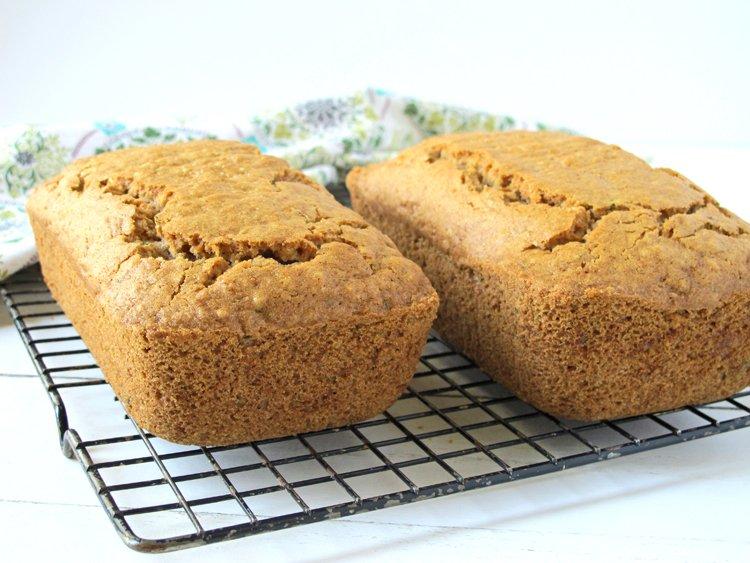 Gluten Free Zucchini Bread (Dairy Free)