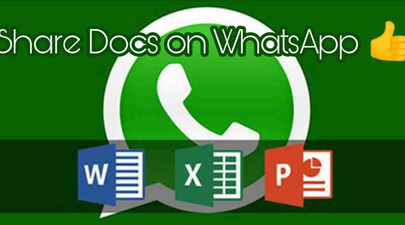 whatsapp doc share feature
