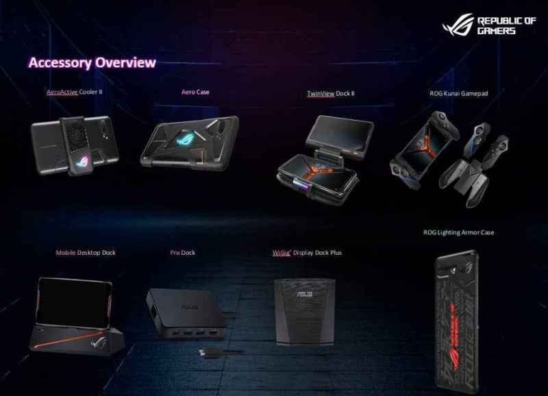 rog phone 2 attachment list