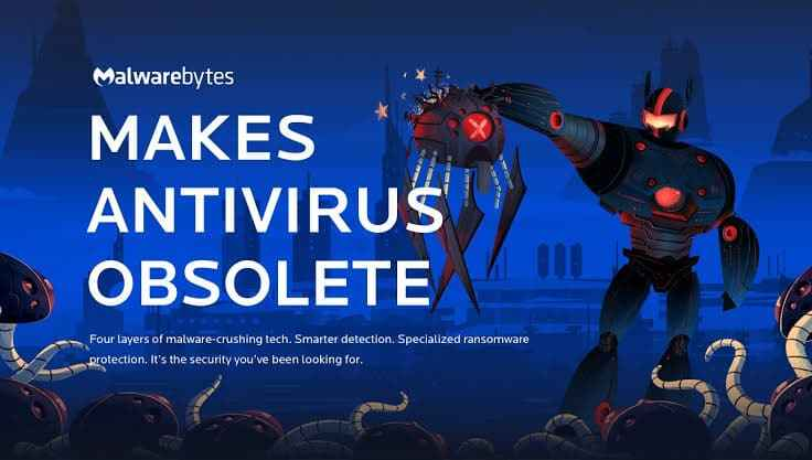malwarebytes is the best free antivirus to remove virus from your computer 2019