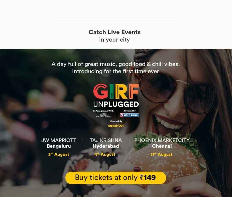 GIRF ticket purchase banner to buy early discount tickets