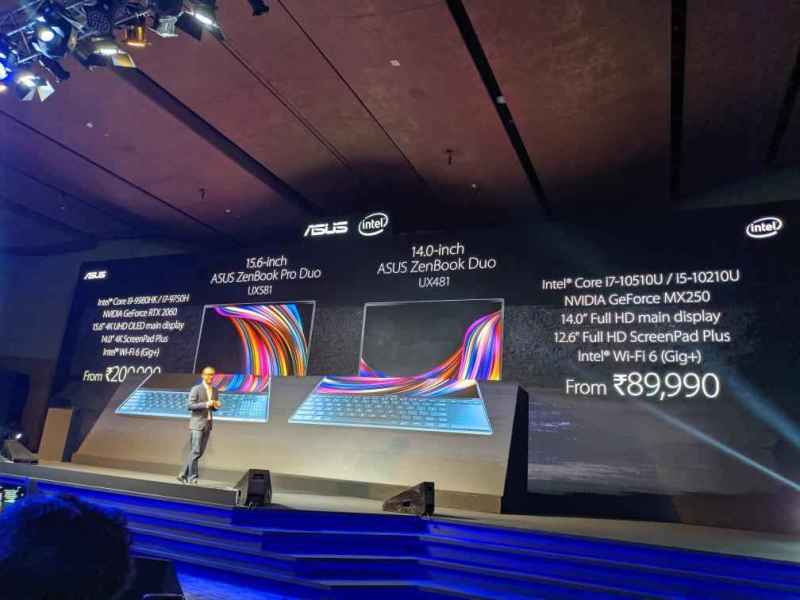zenbook duo specification with price andmodels starting from 890000