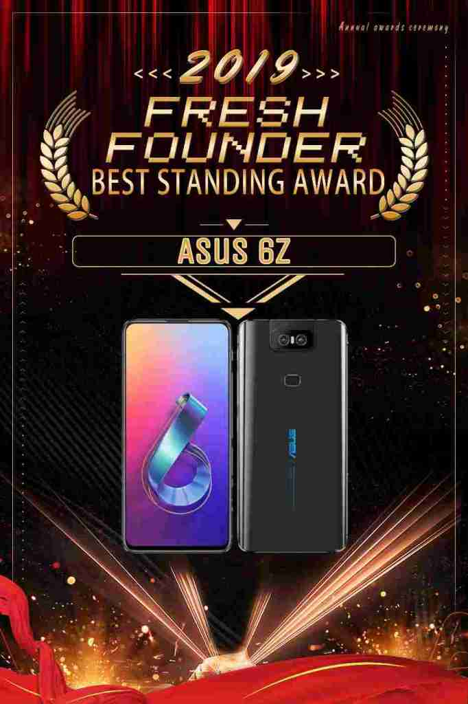 asus 6z most innovative smartphone of 2019 award