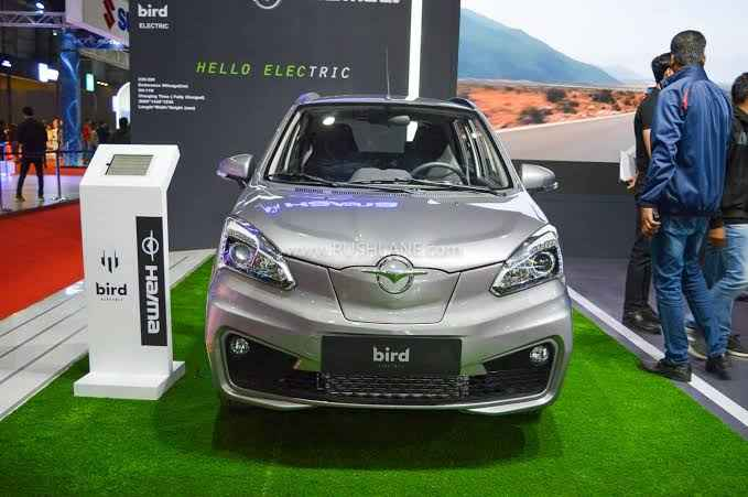 haima bird electric ev1 front look autoexpo 2020