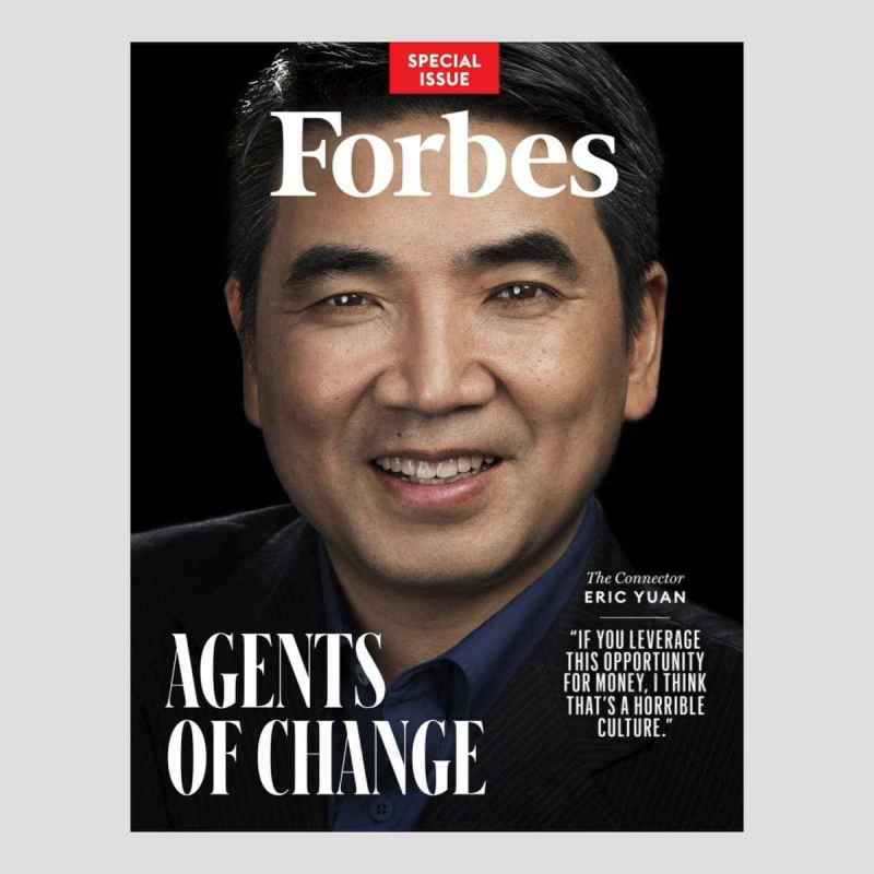 Eric Yuan joined Forbes Annual Billionaire list in Coronavirus Breakdown situation at time of Lockdown & Quarantine all over the World