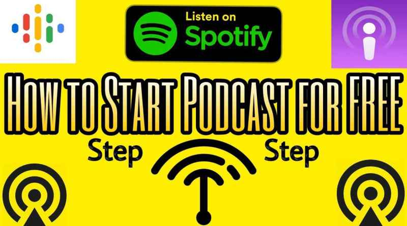 how to create podcast for free & how to start podcast for free step by step guide and how to use anchor app full tutorial, how to earn from podcast