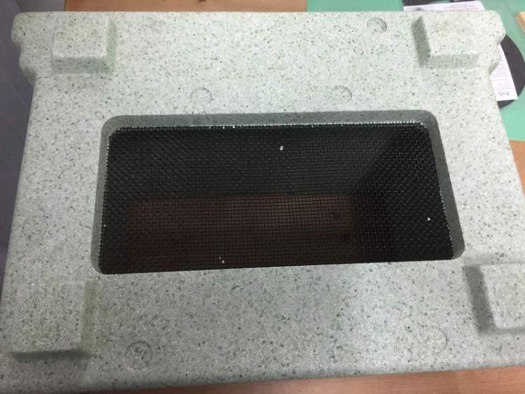 Paynes poly nuc mesh floor