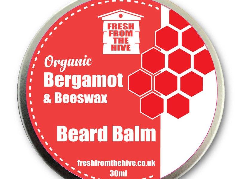 organic Bergamot beard balm