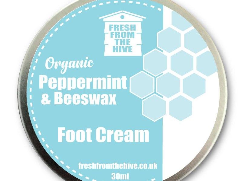 Chemical free foot cream