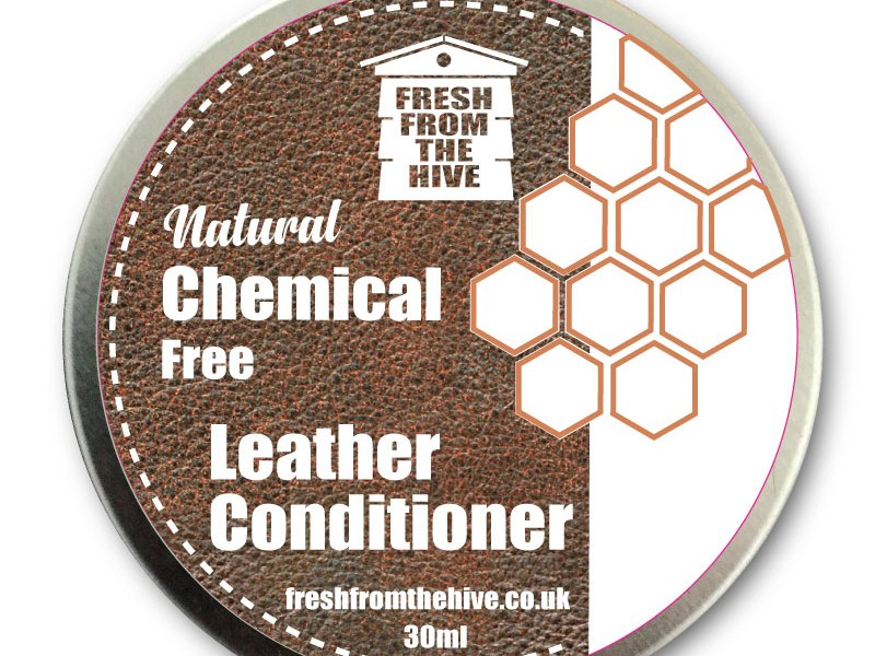 Chemical free leather conditioner