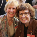 Judy Siegle, Hope Lutheran Church and Kathy Spriggs, Calvary UMC, Fargo, ND