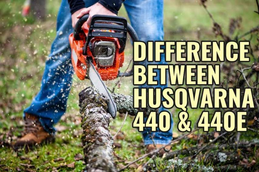 Difference Between Husqvarna 440 and 440e