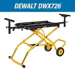 dewalt dwx726 rolling miter saw stand
