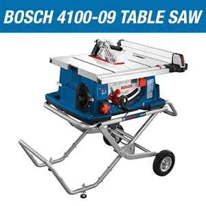 Bosch 4100-09 Table Saw