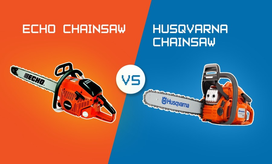 ECHO Vs Husqvarna Chainsaw: Which Is Best?