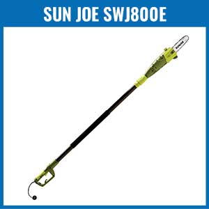 Sun Joe SWJ800E 8-Inch Telescoping Electric Pole Chain Saw