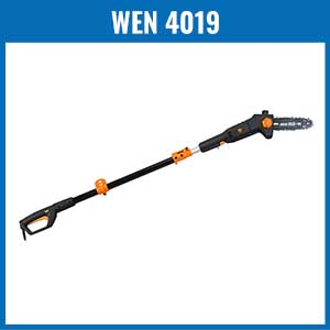 WEN 4019 8-Inch Electric Telescoping Pole Saw