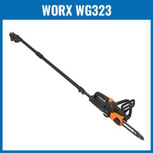 Worx WG323 Cordless Pole Saw