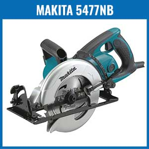 makita 5477nb hypoid saw