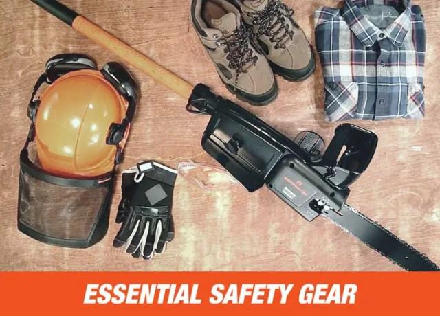 Pole Saw Safety Gear