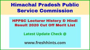 HP School Lecturer PGT Selection List 2020